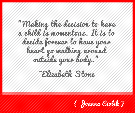 5 Favorite Mother's Day Quotes - Joanna Ciolek