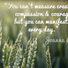 The Year of Creativity, Compassion & Courage