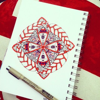 Daily Drawing Practice: January Round Up - Joanna Ciolek