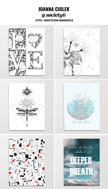 Shop Notebooks by Joanna Ciolek